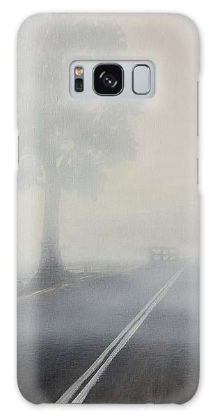 Foggy Road Galaxy Case by Tim Mullaney