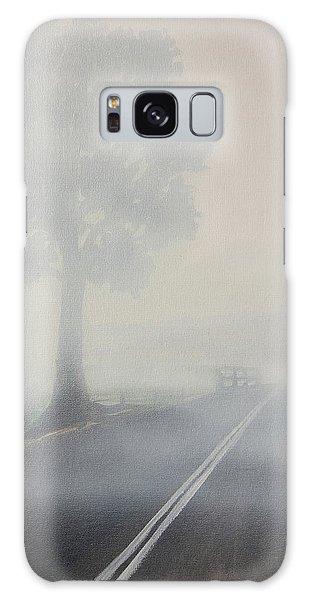 Foggy Road Galaxy Case by Tim Mullaney
