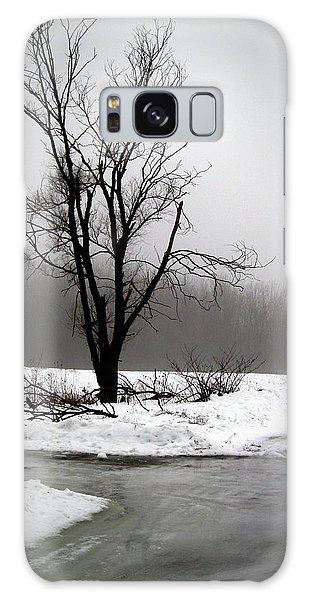 Foggy Tree Galaxy Case