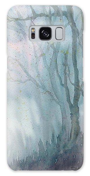Foggy Trees Galaxy Case