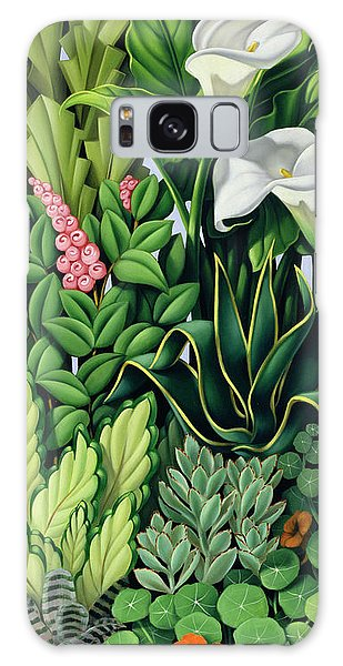 Gardens Galaxy Case - Foliage by Catherine Abel