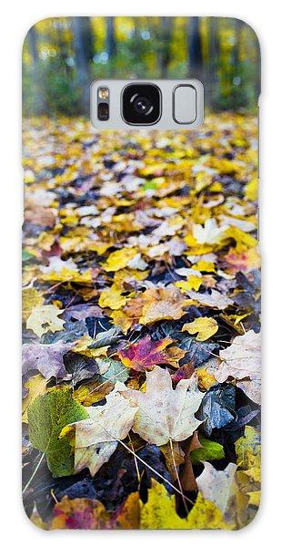 Foliage Galaxy Case by Sebastian Musial