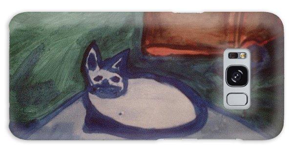 Folk Art Cat Galaxy Case
