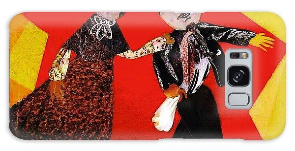 Folk Dancers Galaxy Case