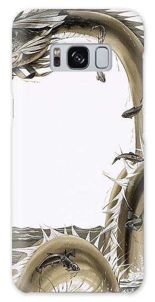 Mythological Galaxy Case - Folk Stories Of America Sea Serpent by Richard Hook