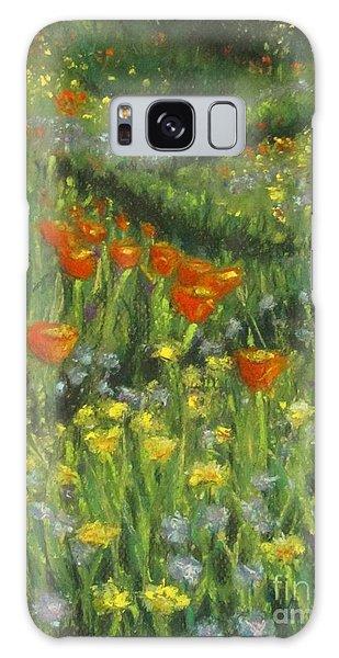 Poppy Trail Galaxy Case by Laurie Morgan