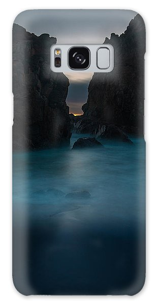 Follow The Light.... Big Sur Galaxy Case by Tim Bryan