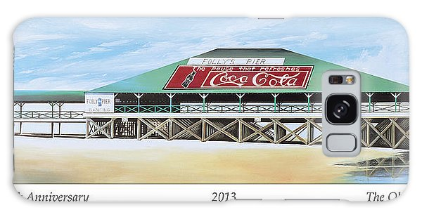 Folly Beach Original Pier Galaxy Case