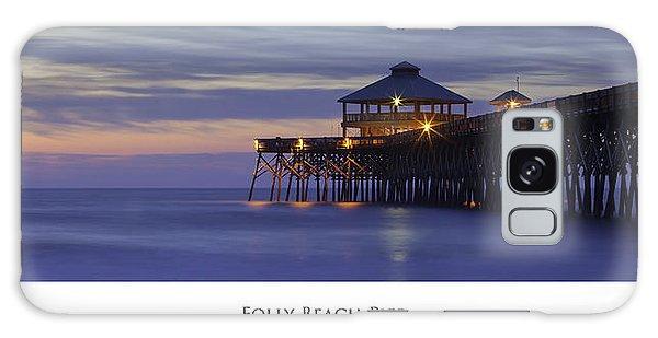 Folly Beach Pier Charleston Sc Galaxy Case