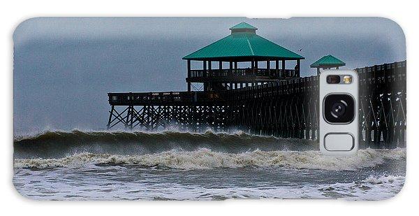 Folly Beach Pier During Sandy Galaxy Case