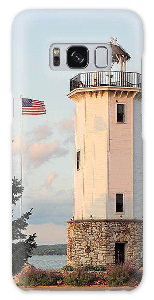 Fond Du Lac Lighthouse  Galaxy Case by George Jones