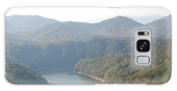 Fontana Lake Fall View Galaxy Case
