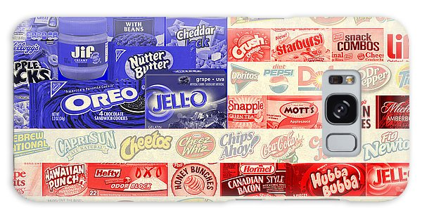 Food Advertising Flag Galaxy Case