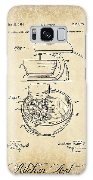 Food Mixer Patent Kitchen Art Galaxy Case