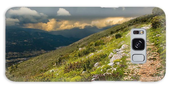 Foot Path Into The French Alps Galaxy Case