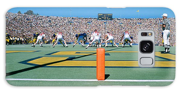 Football Game, University Of Michigan Galaxy Case by Panoramic Images