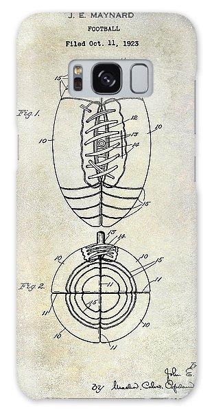 Patent Galaxy Case - 1925 Football Patent Drawing by Jon Neidert