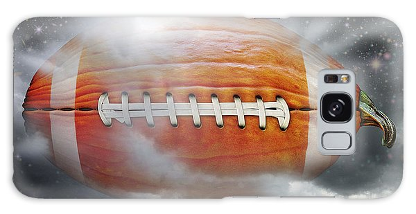 Football Pumpkin Galaxy Case