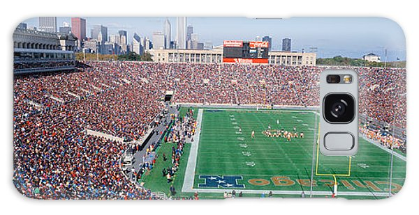 Football, Soldier Field, Chicago Galaxy Case