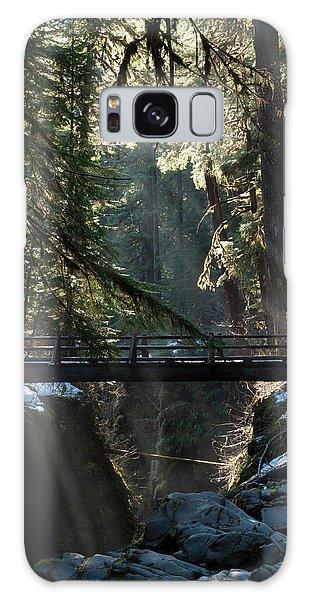 Ecosystem Galaxy Case - Footbridge Near Sol Duc Falls, Olympic by Art Wolfe