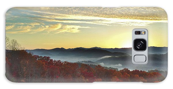 Foothills Parkway Sunrise Galaxy Case