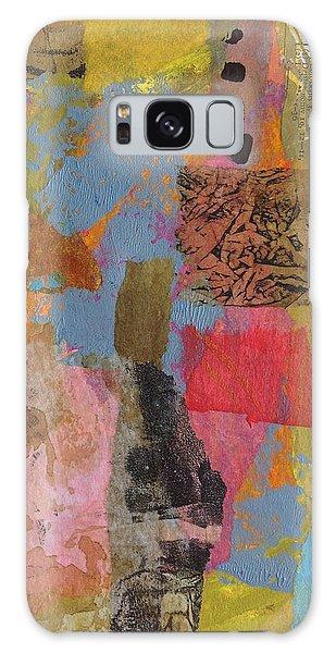 Footprints Galaxy Case by Catherine Redmayne