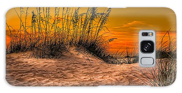 West Bay Galaxy Case - Footprints In The Sand by Marvin Spates