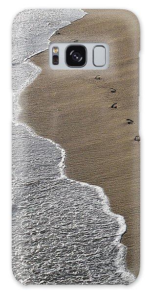 Footprints Galaxy Case