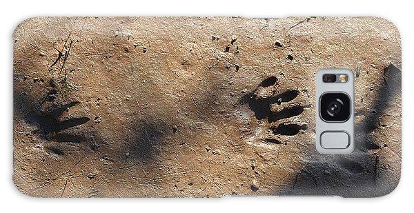 Footprints2 Galaxy Case by Laurianna Taylor