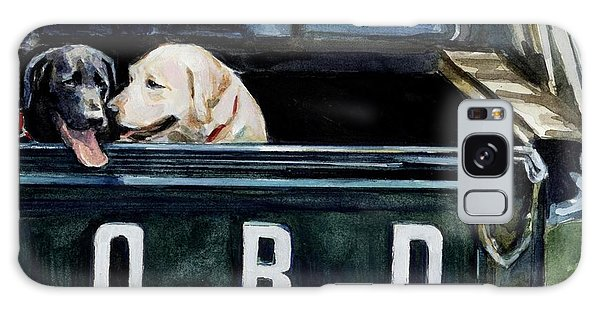 Truck Galaxy S8 Case - For Our Retriever Dogs by Molly Poole