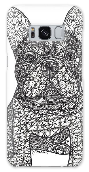 For The Love - French Bulldog Galaxy Case