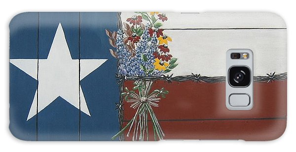 For The Love Of Texas Galaxy Case by Suzanne Theis