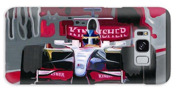 Force India Rising In F1 Monaco Grand Prix 2008 Galaxy Case