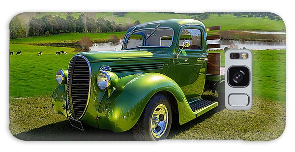 Ford Barrel Nose Pickup Galaxy Case by Keith Hawley