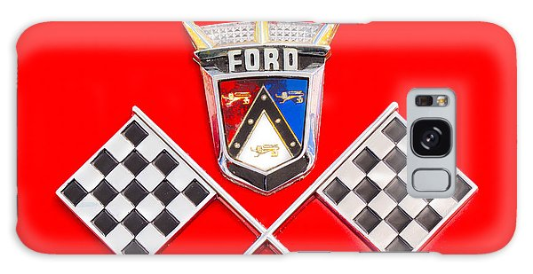 Ford Emblem Galaxy Case by Jerry Fornarotto