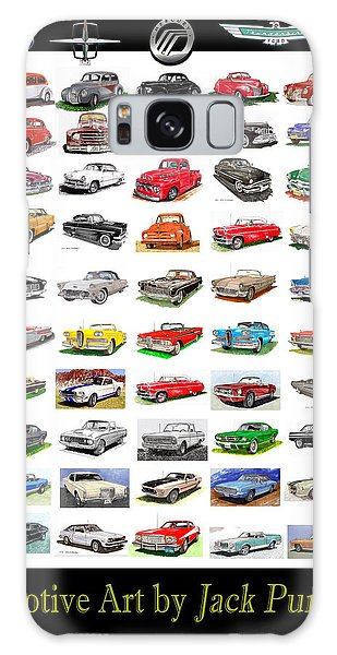 Four Decades Of Fords Poster Galaxy Case