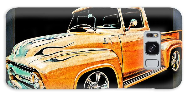 Ford Pickup In Flaming Gold Galaxy Case
