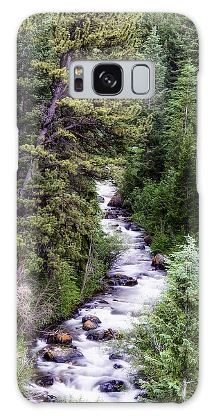 Forest Cascade Galaxy Case by The Forests Edge Photography - Diane Sandoval