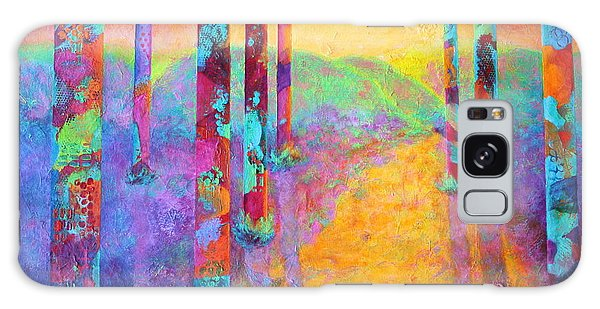 Forest Fantasy Galaxy Case by Nancy Jolley