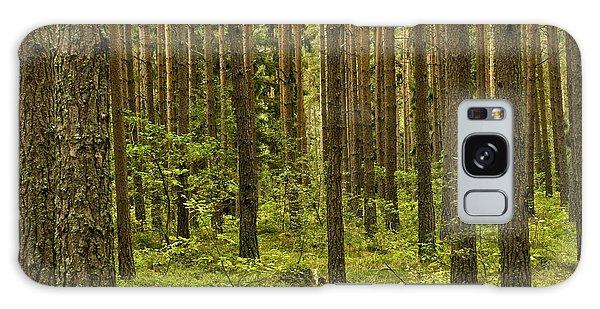 Forest For The Trees Galaxy Case by Nancy De Flon