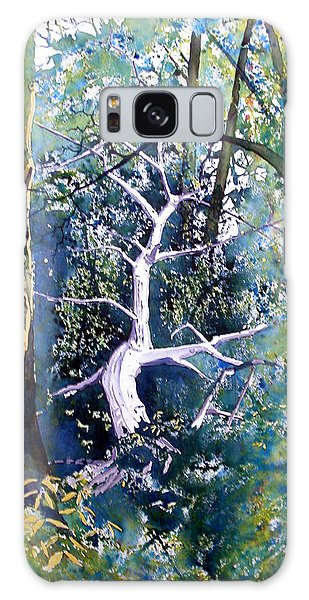 Forest Lessened  Galaxy Case