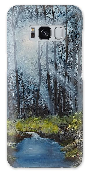 Forest Light Galaxy Case