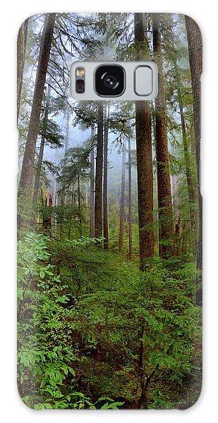 Forest Mist Galaxy Case