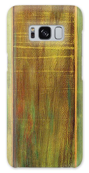 Forest Painted Door Galaxy Case by Asha Carolyn Young