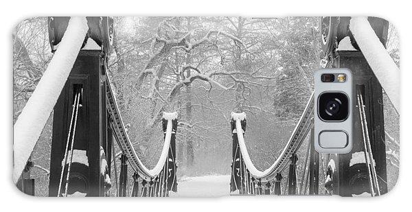 Forest Park Victorian Footbridge Galaxy Case