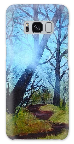 Forest Sunlight Galaxy Case