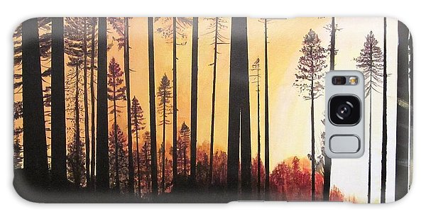 Forest Sunrise Galaxy Case