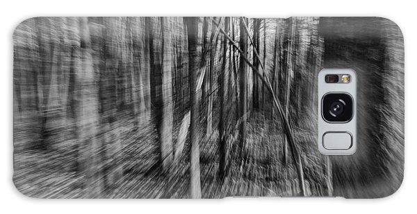 Forest Time B.w Galaxy Case