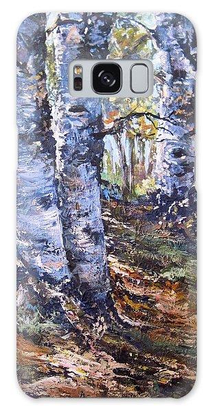 Forest Walk Galaxy Case