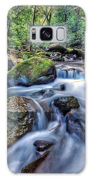 Forest Waterfall Galaxy Case by John Swartz